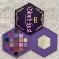 Newest J Star 18 colors Blood Lust Eye Shadow Shimmer and Matte Puple Palette Eyeshadow Cosmetic Artistry Palettes