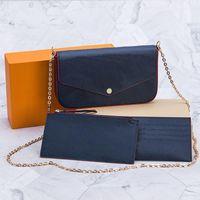 Bag Women Shoulder HBP Clutch With Handbags Strap Cross Body Dust Ladies Box Purse Messenger Totes Bags Flap And Chain Wallet Caxxt