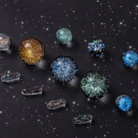 Accesorios de ECIG Bola de cristal STAR SKY TERP con CAPSULE BEAD PEARL MEZCLOS DE LAS MEZCLAS PARA EL BANDER DE CUARZO DE TAILZ