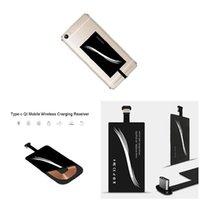 Android 스마트 폰을위한 C USB-C QI 무선 충전기 충전 수신기 모듈 유니버설 타입 -C 휴대 전화 충전기 수신기