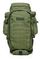 Tactical 50l Combine Mochila Combate Militar Climbing Caminhadas Trekking Pacote Multi-Função Pacote Outdoor Sports Grande Capacidade Sacos Q0721