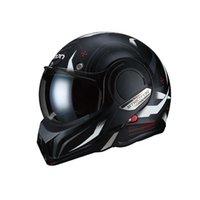 오토바이 헬멧 Beon B707 전체 얼굴 헬멧 레이싱 카스코 모토 듀얼 바이저 남자 여자 180도 리버스 캐패 케테 원래 캐스케
