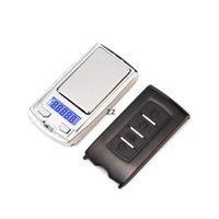 Дизайн ключа автомобиля 200г х 0,01 г Мини электронные цифровые украшения шкалы весы Pocket Gram ЖК-дисплей HWF8810