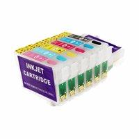 Tintenfindungskits T0821N T082N für T0821 Druckerpatrone R270 R390 RX590 TX700W TX800W T50 TX720 TX700 TX800 RX610
