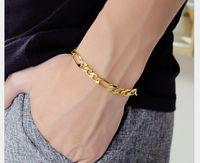 Gold filled the man bracelet, factory direct sale,wholesale bracele ps1932