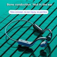 뼈 전도 무선 이어폰 G200 블루투스 5.0 인어 스테레오 헤드셋 오픈 방수 Sweatproof 스포츠 헤드폰