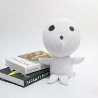 Hayao Miyazaki anime ghost princess plush toy lovely forest Guardian white tree elf Muling doll