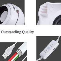 Computer USB-Power-Lautsprecher Mini-Desktop mit HIFI-Sound ausgezeichneter Stereo-Dual für Computer-Kombination geeignet