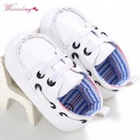 First Walkers WEIXINBUY Born Unisex Baby Boy Girl Soft Sole Crib Shoes PU Sneakers Prewalker Casual 0-18M