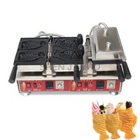 Digital Display Electric Heat Open Snapper Fish Burning Machine Commercial Ice Cream Bread 110 220V 3200W Makers