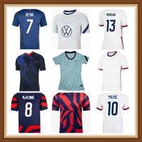2021 2022 Männer Frauen Kinder Fußball-Trikots Christian Pulisic Jersey Alex Morgan Julie Ertz Megan Rapinoe Presse Lloyd Heath Yedlin Dempsey Altidore Football Shirt