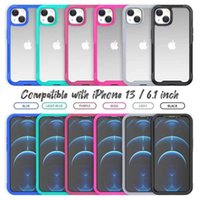 Transparent Heavy Duty Defender Case For Iphone 13 12 11 Pro Max X XS 6G 7G 8 plus Samsung Galaxy S20 cover cases 6.1 6.7 ShockProof Clear