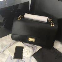 5A + Frauen Handtaschen Marke Luxus Designer Taschen 2021 Leder Gold Kette Crossbody Clutch 25 cm schwarz Brieftasche Haut Lamm Schulter Geldbörse Rosa Flap Multi Pochette Großhandel
