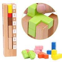 어린이를위한 테트리스 퍼즐 성인 육각 모양 패턴 블록 Tangram 두뇌 티저