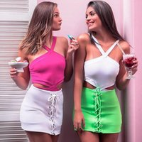 Women's Jumpsuits & Rompers Sexy Hollow Out Skinny Bodysuit For Women Summer Sleeveless Fresh Beachwear Triangle Swimsuit Playsuit Female Wi