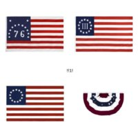 3 * 5 Fuß 2021 America Independence Day Promi Flaggen 90 * 150cm 13 Stars us USA 1777 American Betsy Ross Flag EWB5851