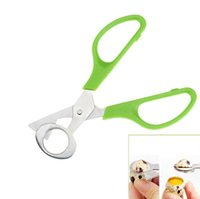 Egg Slicers Scissors For Quail Eggs Egg-cutting Stainless Steel Kitchen Accessories Gadgets gift Free