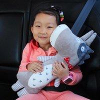 Seat Cushions Belt Pillow Detachable Fastener Tape Design PP Cotton Kid Strap Shoulder Pads Covers For Car Automobiles Accessories