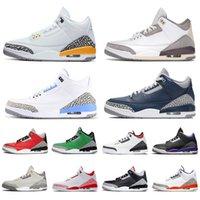 retro 3 aj 3s TOP KALİTE yeni varış 2020 Jumpman UNC erkek kadın basketbol ayakkabıları Fragment Knicks Chicago Tasarımcı Sneakers Boyutu bize 13 Rakipler