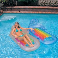 Inflatable Floating Row Summer Swimming Portable Air Mattres...