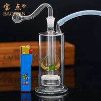 음소거 건강 물 담뱃대 Shisha 흡연 유리 파이프 세트 SoC 액세서리 33