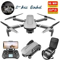 Quadcopter Gimbal Camera Drone HD 4K 5G Wifi FPV Professional Brushless RC Long Distance Dron 2km VS SG906 PRO Drones