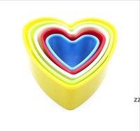 Stampi da cottura Plastica Cookie Stampo Utensili da cucina Cake Mousse anelli Biscotti di verdure Casa Christmay fai da te Stampi Designs 7 Stili HWWE8850