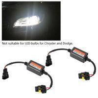 자동차 헤드 라이트 2PCS H7 LED CANBUS 디코더 H11 9005 9006 9007 H4 H1 H3 H13 경고 Canceller 오류가없는 하중 레지스터