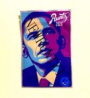 Yeni Obama Runtz Dank Gummies Chuckles Orman Boys Obama Runtz Joker Up 3.5g Mylar Paket Çantası Vape Ambalaj Çiçekler