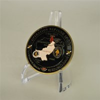Bedienung Neptun-Speer 160. Stienungssiegel-Team 6 Navy Gedenkwürdigkeit Challenge Münze 1pcs / lot