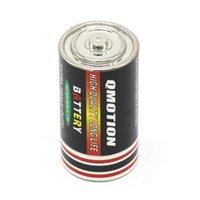 Boîtes de rangement Bacs Batterie Secret Diversion Pill de la boîte de tabac de tabac de taille moyenne Herbe Castre caché Conteneur 25x49mm Zinc Alliage Stach 4 V9J4