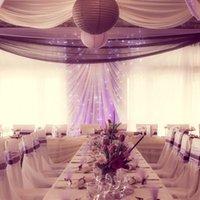 1.5 متر خلفية الزفاف جدار المرحلة الديكور الحرير عرض الحرير النسيج الصلبة اللون القماش أداء الملابس 217 v2