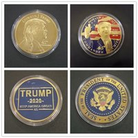 Arts and Crafts President Collectible Badge Craft Keep America Great Trump Election Fan Gift Commemorative Coin{category}