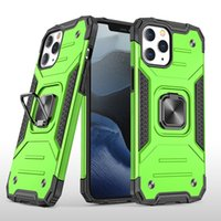(iPhone case)Armour shatter-resistant PC + tpu Phone Case For iPhone 12 pro max  12  12pro 11 pro max XS max XR with ring holder case