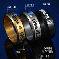 BTS Bullet-Proof Youth League Titanium Steel Ring Simple Star Same Style Peripheral Zheng Haoxi J-HOPE Diamond Ring