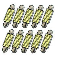 10pcs Set Bulbs 12V Interior Lighting 3014 33 LED 6000K Car SMD White Practical Emergency Lights