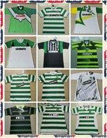 Rétro 1991 1992 1995 1998 1998 1999 Glasgow Celtic Soccer Jerseys 95 97 99 Larsson Nakamura Keane 91 92 Chemises de football de Sutton jaune