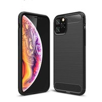 Carbon Fiber silicons phone cases iphone 13 12 11 pro max case X Xr Xs Max 6 6S 7 8 Plus Cover For coque iphone fashion