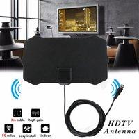 1080P 실내 디지털 TV 안테나 신호 수신기 증폭기 반경 서핑 여우 Antena HDTV 안테나 공중 미니 DVB-T / T2