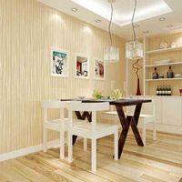Wallpapers Großhandel-Vliesmode Dünne Flockung Vertikale Streifen für Wohnzimmer Sofa Hintergrund Wände Home Tapete 3D Multicolor C5VI