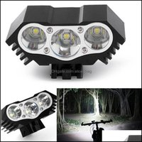 Aessories Sports & Outdoorshigh Quality 7500 Lumen 3X T6 Zoom Mini Torch Led Cycling Mtb Road Bike Front Head Bicycle Lights With Mount Drop