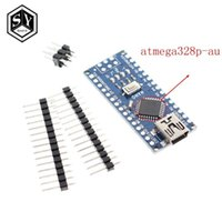 الدوائر المتكاملة Nano 1PCS مصغرة USB مع وحدة تحكم Bootloader 3.0 متوافق ل Arduino CH340 Driver 16MHZ V3.0 ATMEGA328