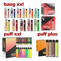 Puff Bars Bang XXL 2000 Puffs Einweg-Vape-Pen-Zigaretten-Geräte-Kit 800mAh-Batterie 6ml-Pods-Dämpfe-Kartuschen Vorgefüllte Verdampfer-Kits in den USA!