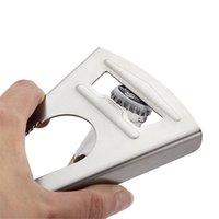 Acciaio inossidabile Opener Jar Wrench antiscivolo Twist Cap Grip Corkscrew Apri multifunzione Accessori da cucina KDJK2103