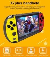 Handheld Retro Mini Arcade Player Smart Emulator Retrogame Controller X7 PLUS Controllers & Joysticks Game