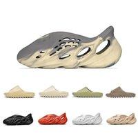 été os hommes pantoufles de luxe mousse Runner kanye west mode désert sable résine plage femmes hommes yeezy glisse sandales