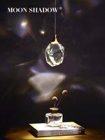펜던트 램프 YSN Moonshadow 조명 침실 LED 전체 황동 크리스탈 노르딕 램프 등기구 서스펜션 장식 살롱 220V 매달려