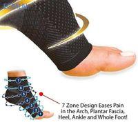 Comfort ECMLN стопы от усталости сжатия рукава упругие мужские носки женщин снимают набухание калькулировки соклейки Соккен