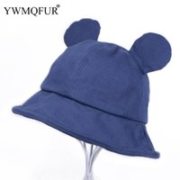 الخريف الشتاء خمر القطن دلو القبعات للنساء الصلبة فتاة لطيف آذان القط سيدة قبعة عارضة الإناث ذكر قبعات 2021 وصول واسعة بريم