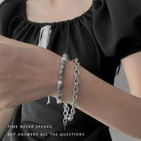 Beaded, Strands Pearl Bracelet Women Hip Hop Jewelry Friendship Bracelets Pulseras Mujer For CN(Origin)
